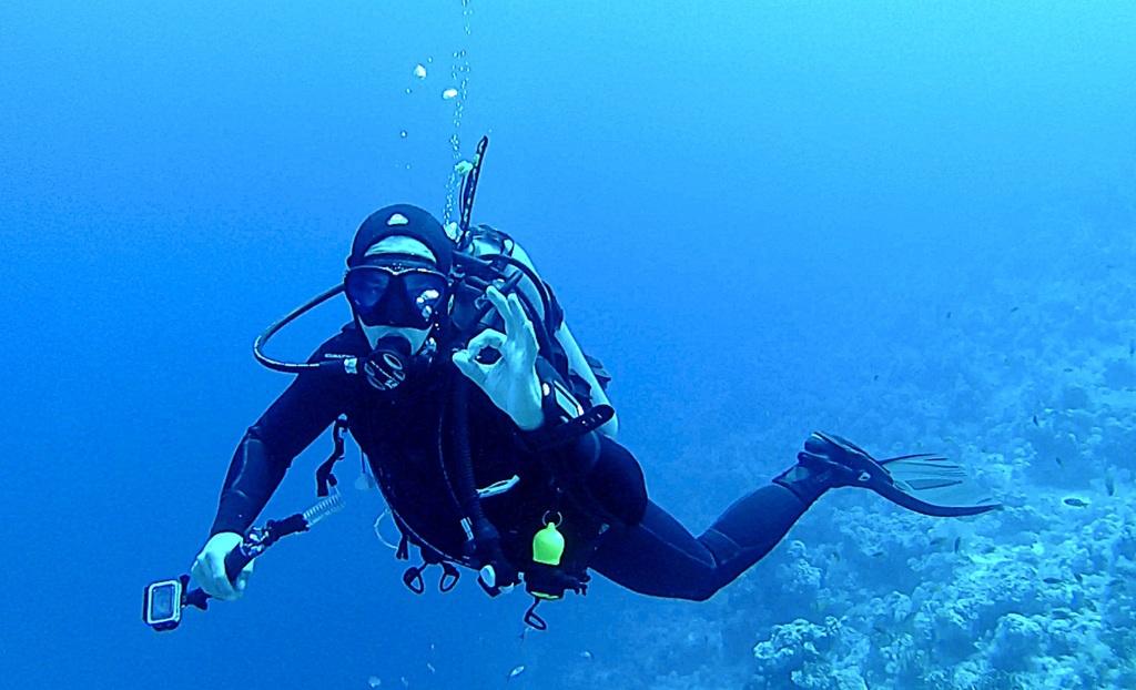 Att börja dyka