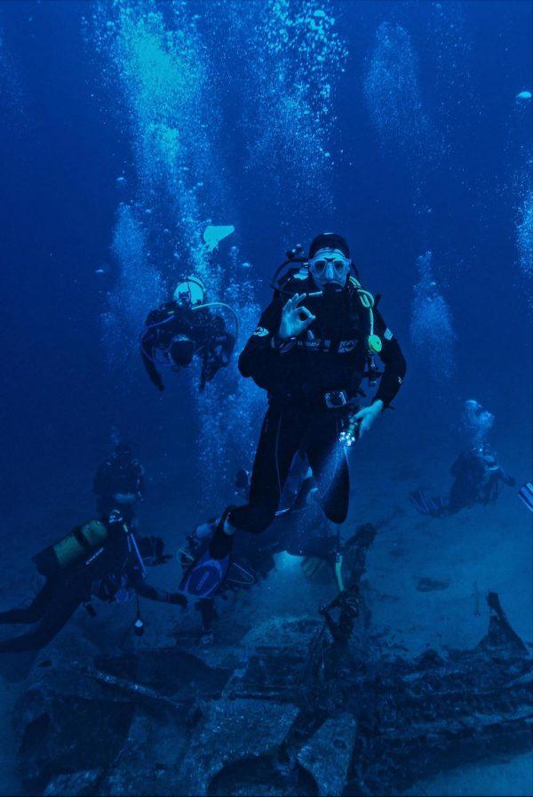 Dykning som fascinerar