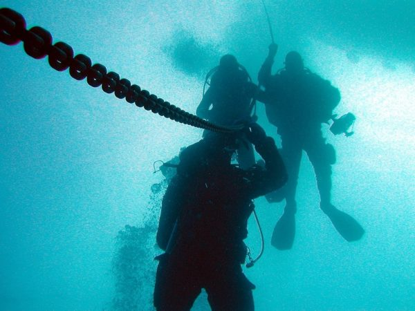 Jobba som dykare